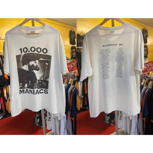 Nice Man Other - 1993 VTG 10,000 MANIACS - SUMMER '93 Concert Tee